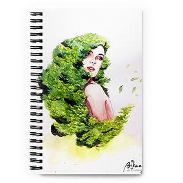 "Notebook ""Greens"" by Bikangarts"