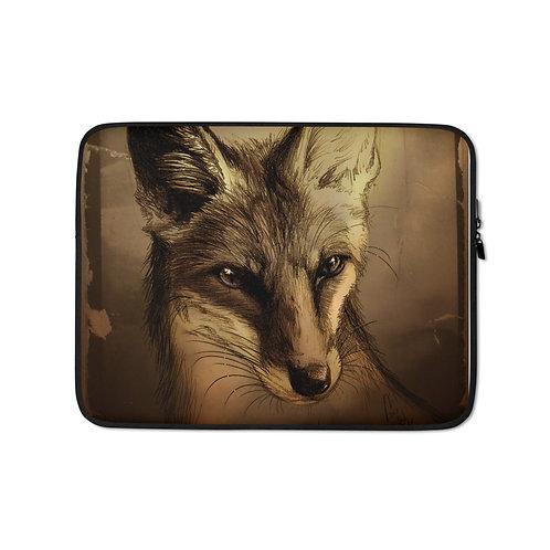 "Laptop sleeve ""Fuchs"" by Culpeo-Fox"