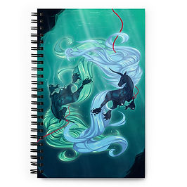 """Notebook """"Drown"""" by Astralseed"""