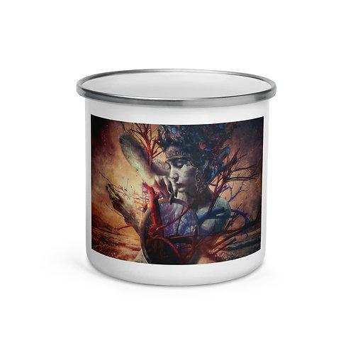 """Enamel Mug """"Blossom"""" by """"Aegis-Illustration"""""""