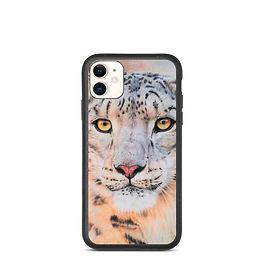 "iPhone case ""Snow Leopard"" by Beckykidus"