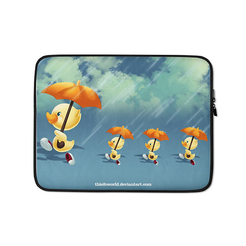 """Laptop sleeve """"Patituous"""" by Thiefoworld"""
