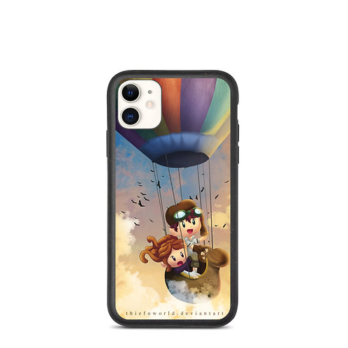 """iPhone case """"City in the Sky"""" by Thiefoworld"""