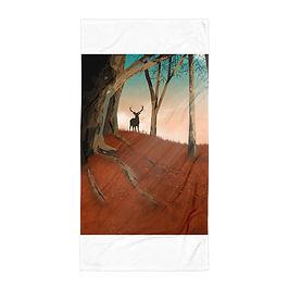 """Beach Towel """"Hunter Dream"""" by Saddielynn"""