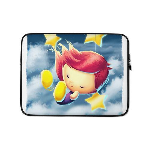 "Laptop sleeve ""A Million Parachutes V2"" by Thiefoworld"