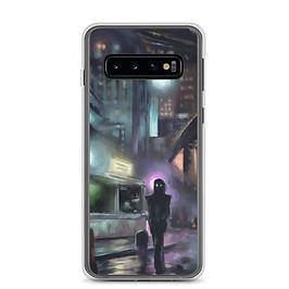 "Samsung Case ""Cyberpunk City"" by Hymnodi"