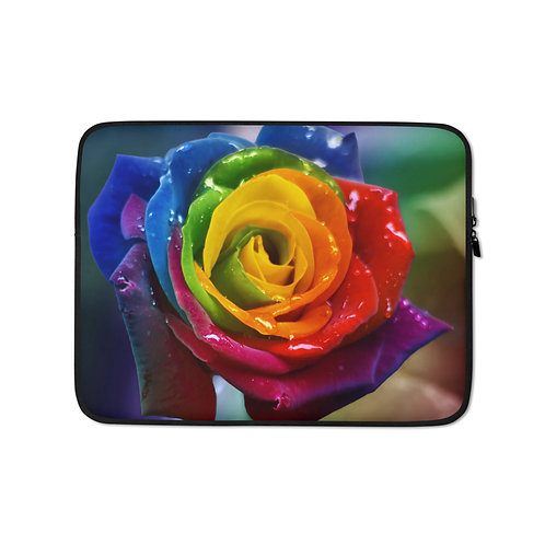 """Laptop sleeve """"Perfection"""" by Lilyas"""
