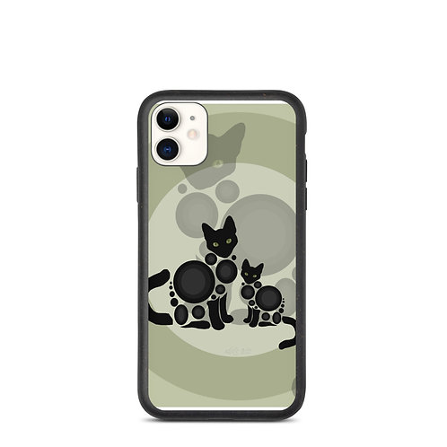 """iPhone case """"Meow"""" by Astralseed"""