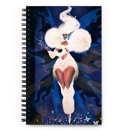 "Notebook ""Fairy Goddess Dandelion"" by DasGnomo"