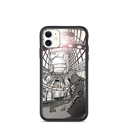 """iPhone case """"Hustle and Bustle"""" by Ccayco"""