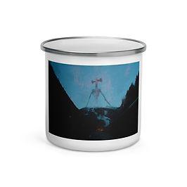 "Enamel Mug ""Air Raid"" by Dark-indigo"