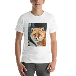 """T-Shirt """"Red Fox Fire and Frost"""" by Beckykidus"""