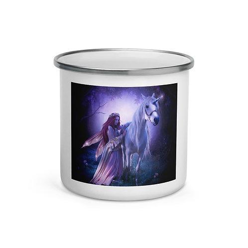 "Enamel Mug ""Unicorn"" by ""ElenaDudina"""