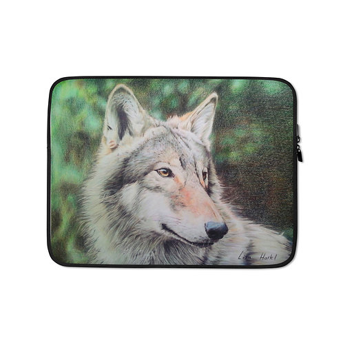 """Laptop sleeve """"Dreaming of a Better Future"""" by Beckykidus"""