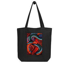 "Tote bag ""Blue Coral Snake"" by ""Culpeo-Fox"""