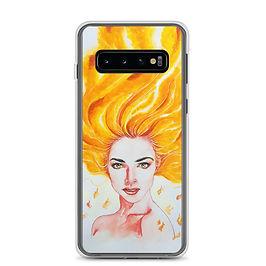 """Samsung Case """"Burn"""" by Bikangarts"""