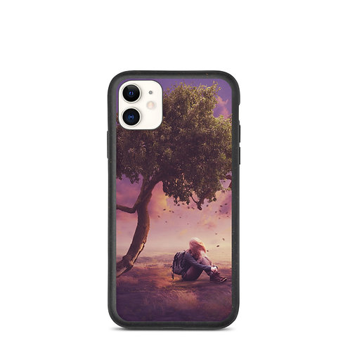 """iPhone case """"Where the Wind Takes Me"""" by Elysekh"""