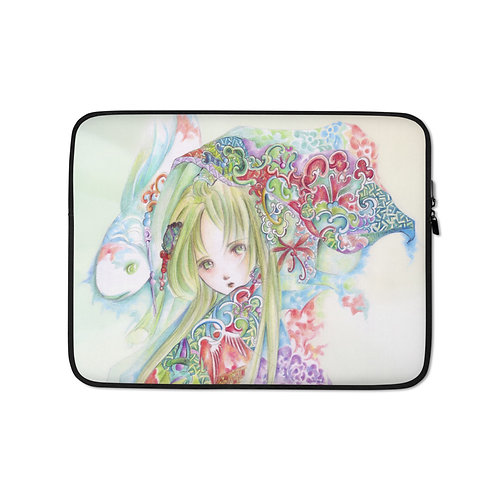 """Laptop sleeve """"Pisces"""" by Hellobaby"""