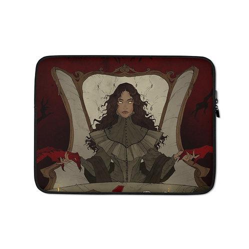 """Laptop sleeve """"Summoning"""" by AbigailLarson"""