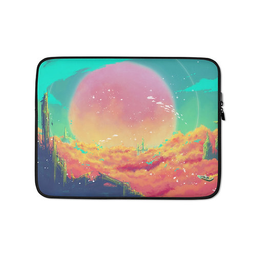 """Laptop sleeve """"After Life"""" by Ashnoalice"""