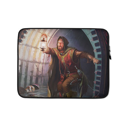 """Laptop sleeve """"Dungeons and Dragons"""" by JeffLeeJohnson"""