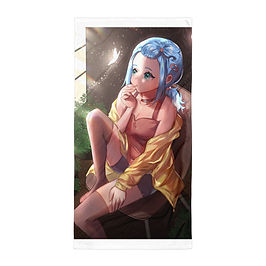 "Beach Towel ""Original Character - Remora"" by Pigliicorn"