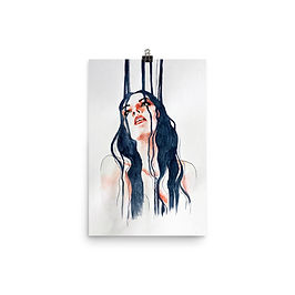 "Poster ""Overflow"" by Bikangarts"