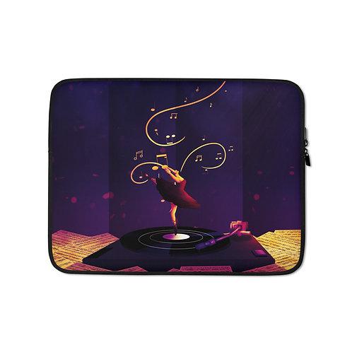 """Laptop sleeve """"Twilight Ballet"""" by Saddielynn"""