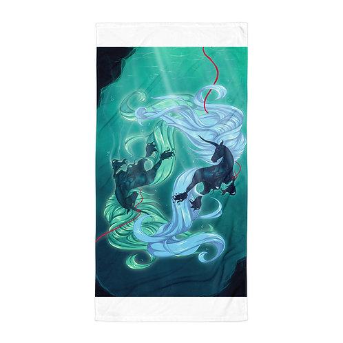 "Beach Towel ""Drown"" by Astralseed"