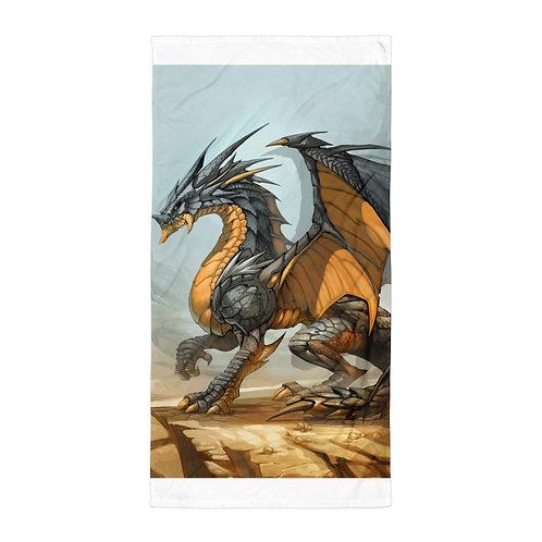 """Beach Towel """"Ash Dragon"""" by """"el-grimlock"""""""
