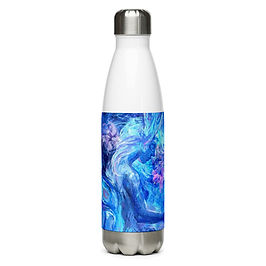"""Water Bottle """"Mermaids Wintertale"""" by Solar-sea"""