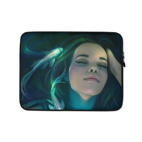 "Laptop sleeve ""Water Dreams"" by ElenaDudina"