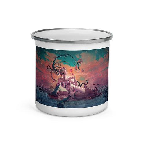 "Enamel Mug ""Dryad and Fairy"" by ""DasGnomo"""
