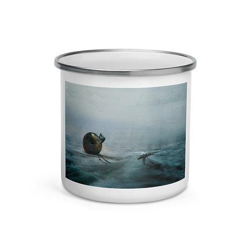 """Enamel Mug """"Death Stranding"""" by Dark-indigo"""