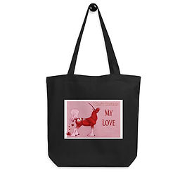 """Tote bag """"I Can't Contain My Love"""" by Astralseed"""