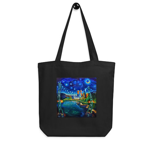 """Tote bag """"Lions Gate Night Out"""" by """"LauraZee"""""""
