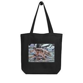 "Tote bag ""Look Before You Leap"" by Beckykidus"