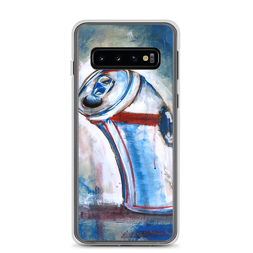 """Samsung Case """"Blue Ribbon"""" by MikeOncley"""
