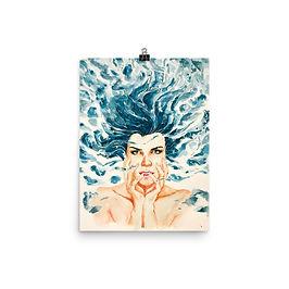 """Poster """"Drown"""" by Bikangarts"""