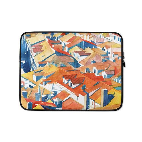 """Laptop sleeve """"Dubrovnik"""" by Takmaj"""