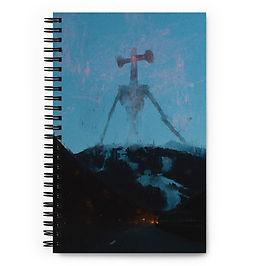 "Notebook ""Air Raid"" by Dark-indigo"