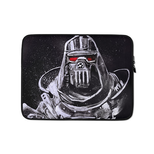 """Laptop sleeve """"Cage Armor"""" by MikeOncley"""