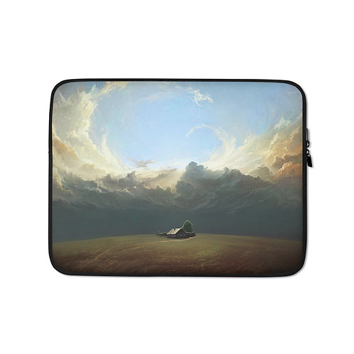 """Laptop sleeve """"At-world-ends"""" by RHADS"""