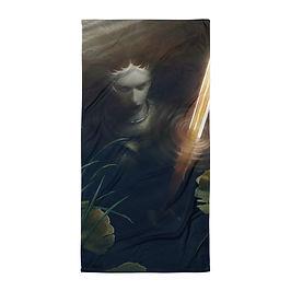 "Beach Towel ""Lady of the Lake"" by ""JeffLeeJohnson"""