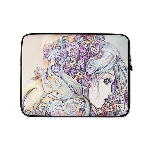"""Laptop sleeve """"Capricorn"""" by Hellobaby"""