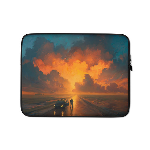 """Laptop sleeve """"Performance of the Heavens"""" by RHADS"""