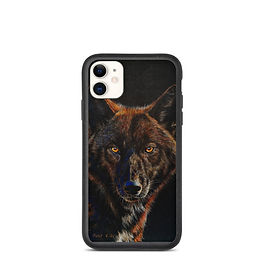 "iPhone case ""Black on Black"" by beckykidus"