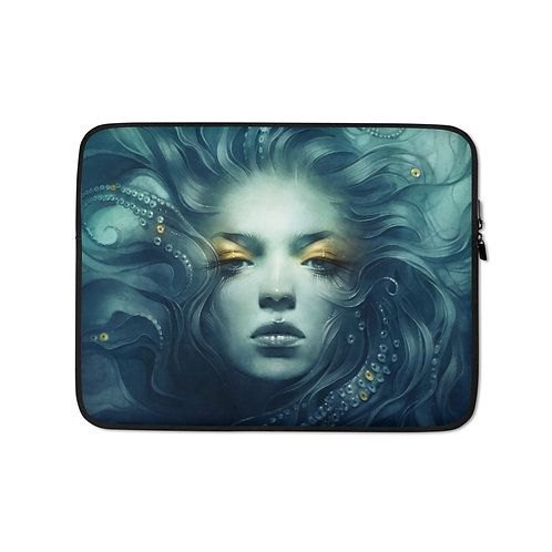 """Laptop sleeve """"Ink"""" by Escume"""