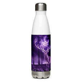"""Water Bottle """"Stag"""" by Astralseed"""