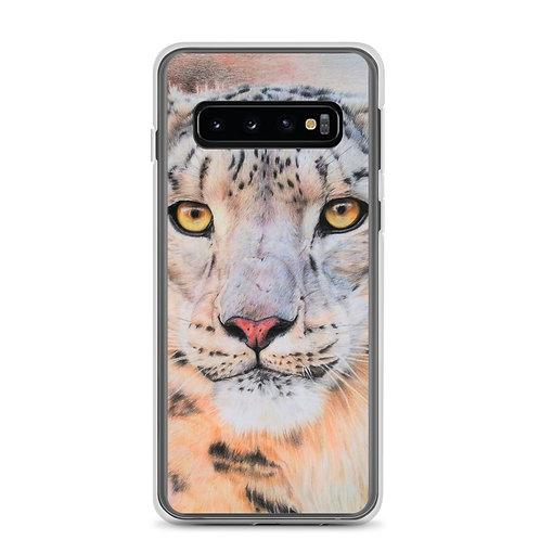 """Samsung Case """"Snow Leopard"""" by Beckykidus"""